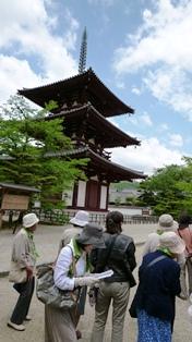 法輪寺 三重の塔