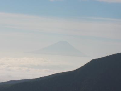 にゅうから見た富士山
