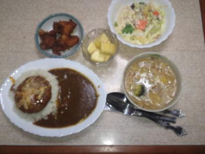 タカの晩御飯