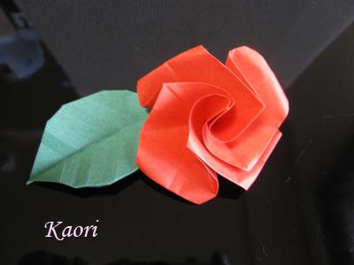 バラ 折り紙 バラ 折り紙 : kaorinpap.blog.fc2.com