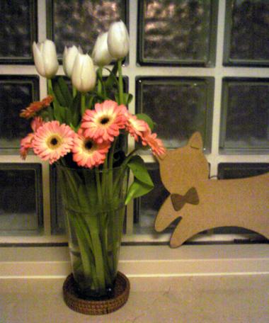 玄関の花びん