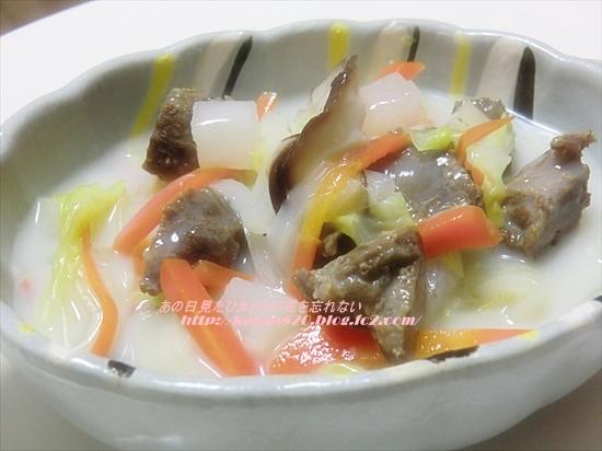 大根と白菜のクリーム煮♪