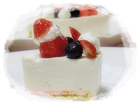 豆腐ヨーグルトチーズケーキ♪