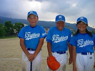 20120722広陵東パワフルズ練習試合 (1)