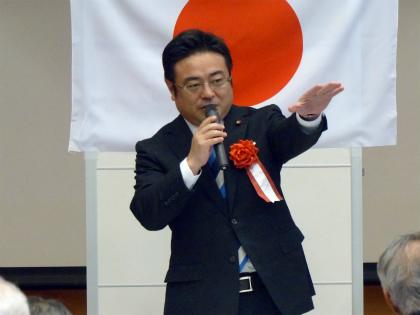 豊島市議による奉迎の報告