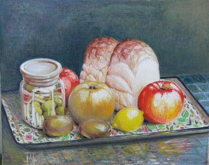 りんご パン 梅酒