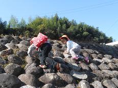 石垣登り1