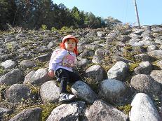 石垣登り2