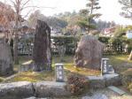 芭蕉と曽良の碑