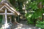白河神社へ入り口