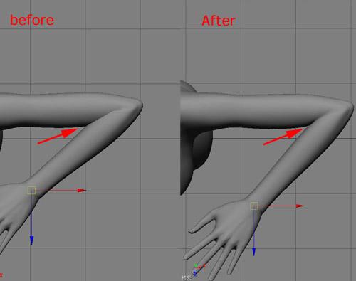 肘のボリューム5