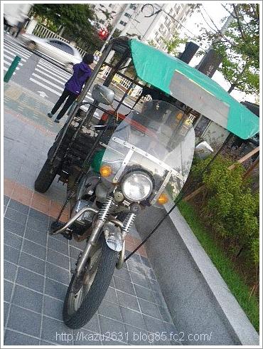 韓国バイク
