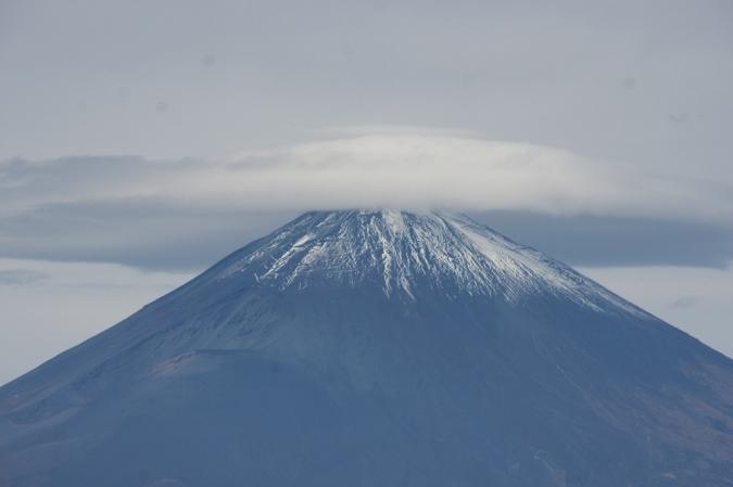 DSC06263富士山笠雲