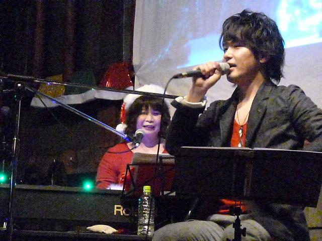 ピアノYOKOさん,ボーカルのkyo-sukeさん