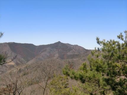 大岩山(剣が峰)