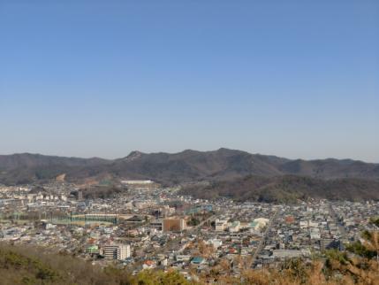 大坊山(一番右?)