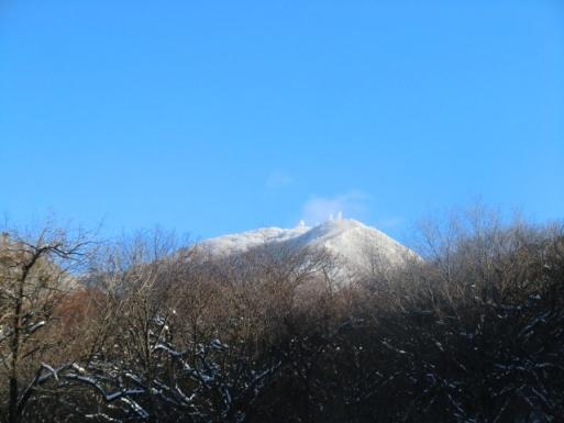 姫百合Pから地蔵岳山頂
