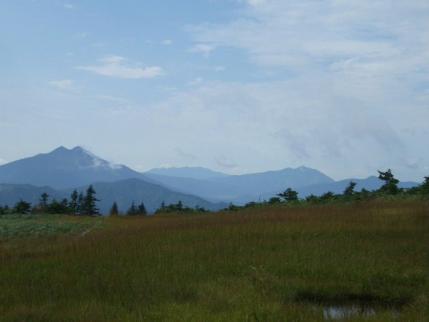 燧ケ岳、至仏山の間には上州武尊山