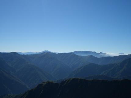 前駒から燧ケ岳、平ヶ岳、至仏山
