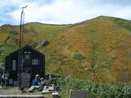 駒ノ小屋から山頂