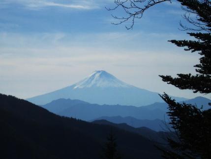 熊沢山から