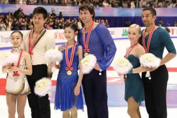 神戸ライフ:NHK杯ペア表彰式