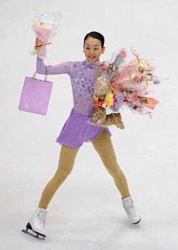 神戸ライフ:NHK杯真央フリー