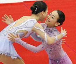 神戸ライフ:NHK杯女子表彰式-2