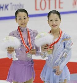 神戸ライフ:NHK杯女子表彰式