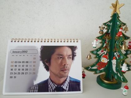 神戸ライフ:久保田2012カレンダースケジュール帳3