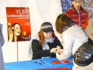 神戸ライフ:YURIサイン会