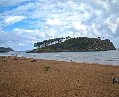 spainビーチ
