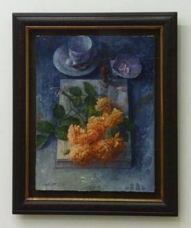 蛭田均「黄のバラ」