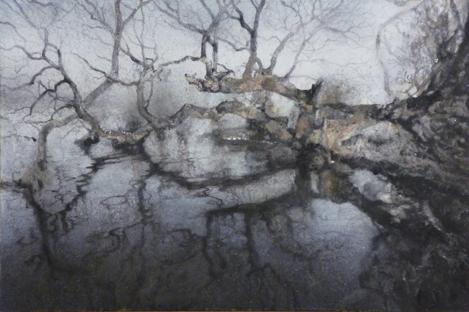 北川安希子「水の森-3」