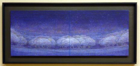 稲垣直樹「樹-青い風景-」