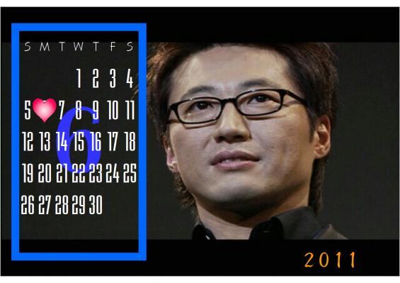 2011 06 カレンダー