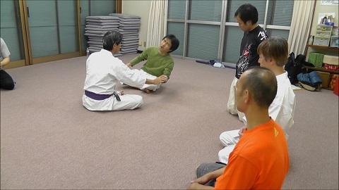 東京稽古1 2013年11月 接触面について