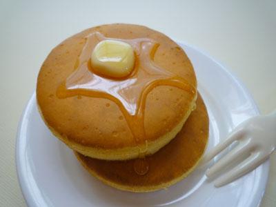 普通のホットケーキ