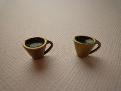 コーヒーカップチャーム