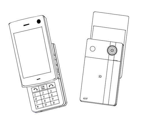 キャラ携帯