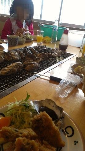 室津で牡蠣を!