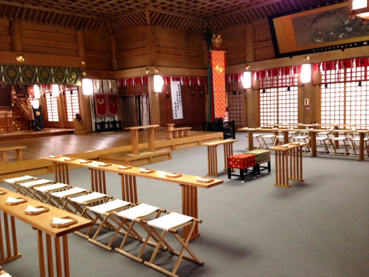 H26.挙式拝殿