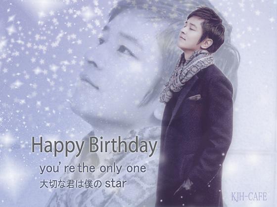 Happy Birthday John-Hoon 20140120