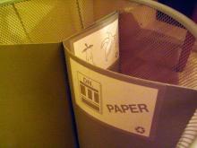 ホテルの分別ゴミ2