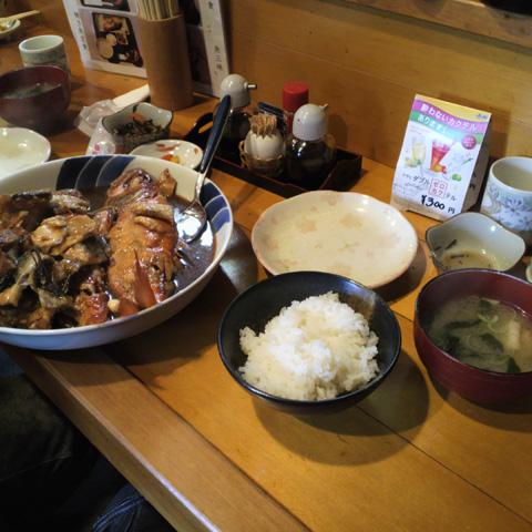 煮魚定食0128