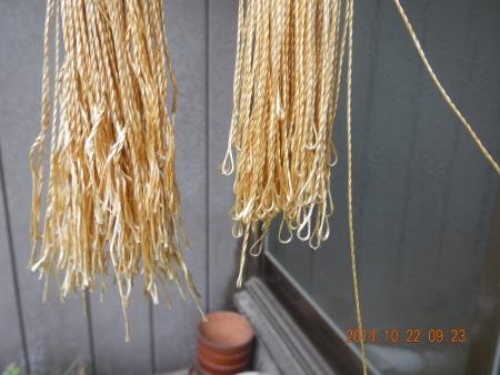 干し柿作り (3)