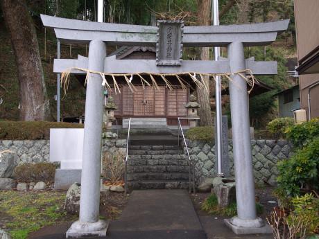 08手越-少将井神社-鳥居
