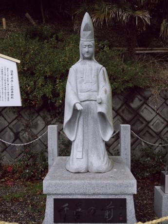 11手越-少将井神社-千手像