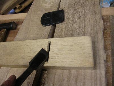 小鉋、刃口の調整