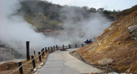 秋田玉川温泉岩盤浴